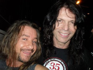 Zack Miles and Rudy Sarzo